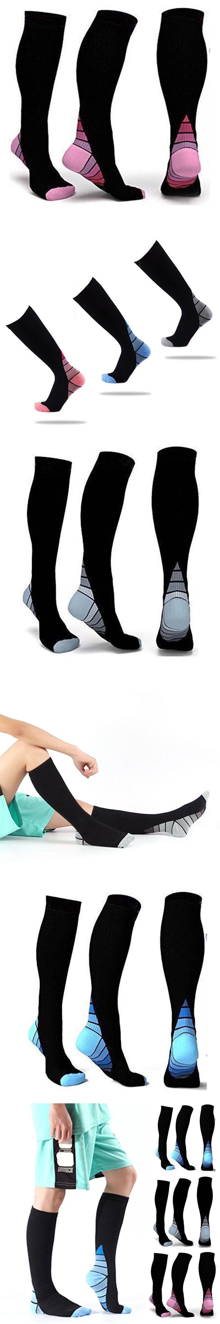 HIRIGIN Newest Men's Women's Compression Socks Pain Relief Graduated Support Stockings L/XL