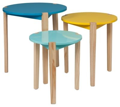 Spectacular SEI Tatum Nesting Table Piece Set by Ashley HomeStore Multi