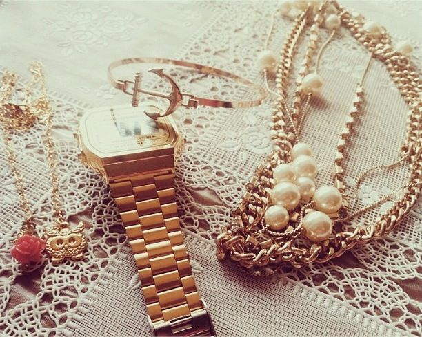 Life is golden.  #Gold #Accesories