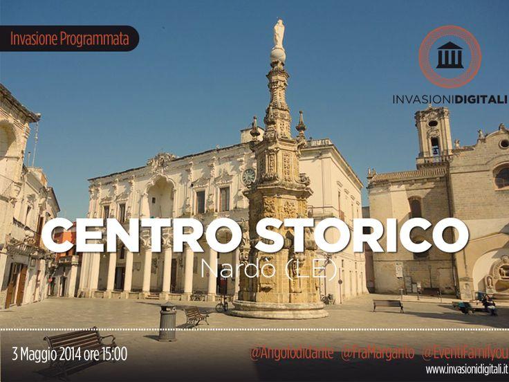 #InvasioniDigitali: Sabato 3 Maggio ore 15:00 tutti a Nardò per invadere il suo centro storico.  INFO:http://www.invasionidigitali.it/it/invasionedigitale/invasione-del-centro-storico-di-nard%C3%B2-0#.U1TRk-Z_sQ4  Hashtag: #InvadiNardò #InvasioniDigitali #Lecce2019