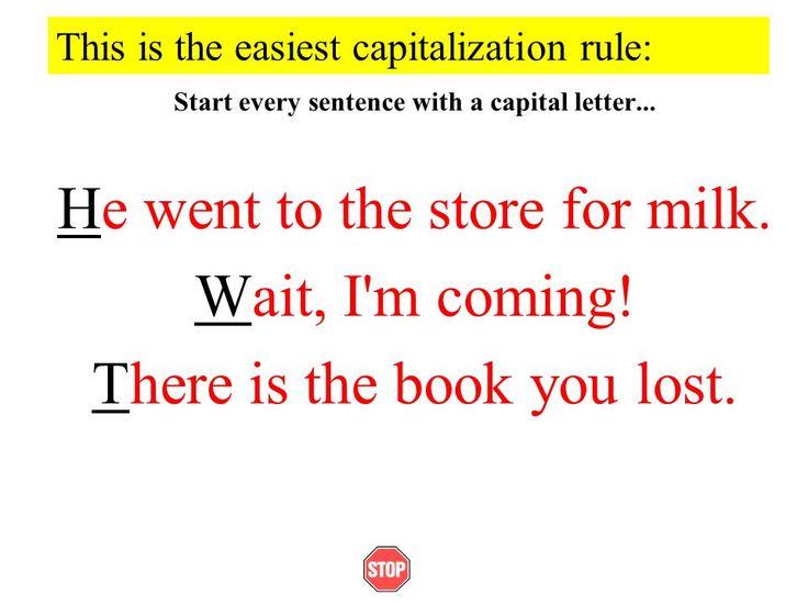 409 best Punctuation images on Pinterest Punctuation, Image and - salutation punctuation