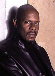 "Avery Brooks as Hawk says: ""I'm scared of you."""