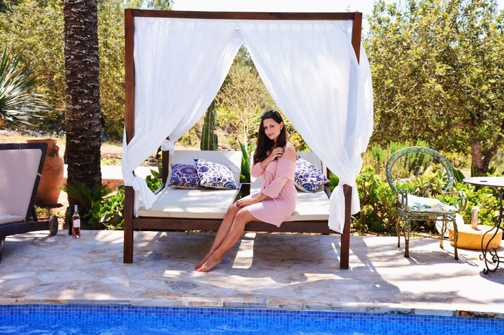 Dress & Travel Fashionblog Asos Strandkleid am Pool