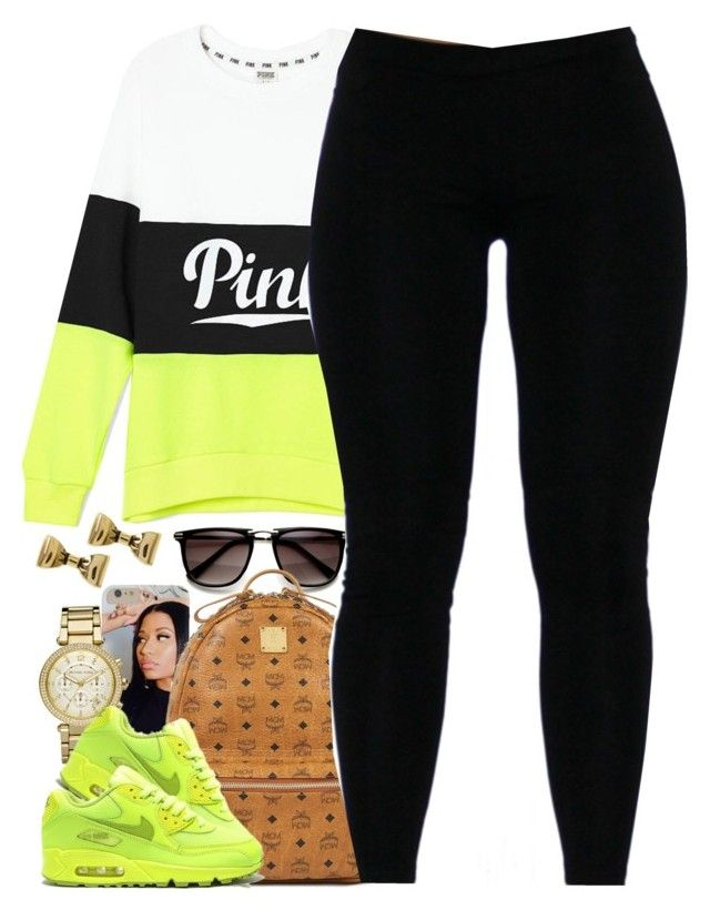 """""""Untitled #1400"""" by power-beauty ❤ liked on Polyvore featuring MCM, Michael Kors and Betsey Johnson"""