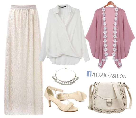 A Touch of Rose Shade - Outfit Idea