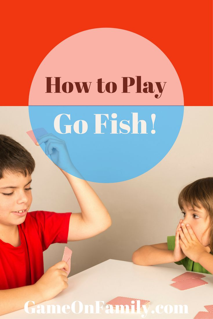 73 best game tutorials images on pinterest games for Go fish instructions