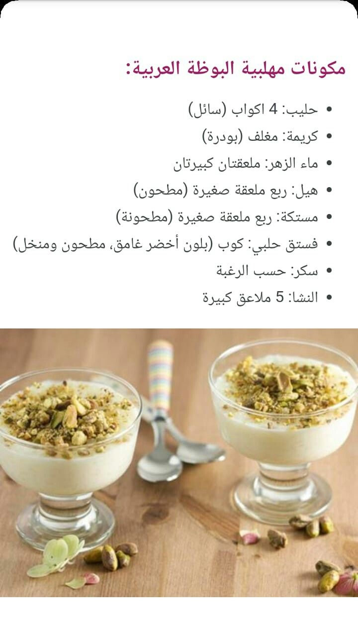 Pin By Vefat Mohsen On وصفات عربية Food Receipes Arabic Sweets Recipes Cooking Recipes