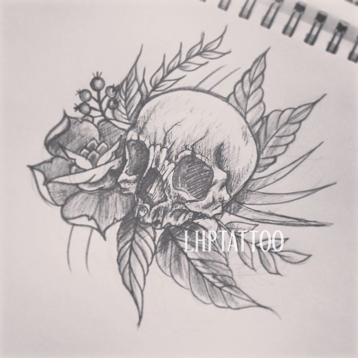 original tattoo skulls - photo #18