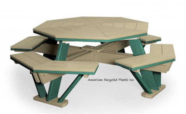 1000 ideas about octagon picnic table on pinterest for 10 person picnic table