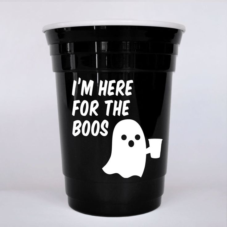 Halloween party idea | Halloween decorations | Halloween party decorations idea | Halloween party favor | Halloween cup | Plastic cup by PursuitofCocktails on Etsy https://www.etsy.com/listing/475433307/halloween-party-idea-halloween
