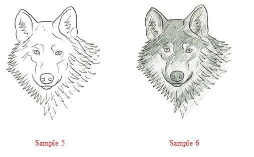 Как Рисовать, Крестом Волк