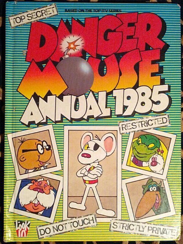 Danger Mouse Annual 1985 via @weaselspoon
