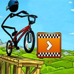 Stickman Freestyle BMX is a bicycle racing game in physics world inspired by old school freestyle games like Tony Hawk's Pro Skater or Dave Mirra BMX.Play best free flash online racing games on win1game.com, you can play maximum entertaining sport racing games like bike racing games online, Game has elaborate combo system, sophisticated ride rating and lots of content. stick, stickman, freestyle, bmx, bullet time, physics, combo