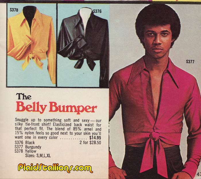 Plaid Stallions : Rambling and Reflections on '70s pop culture: Belly Bumper