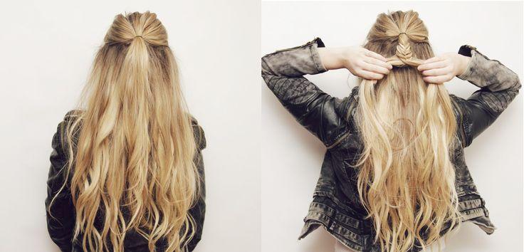 cool Красивые косы на длинные волосы (50 фото) — Оригинальные идеи плетений Check more at https://dnevniq.com/kosy-na-dlinnye-volosy-foto/