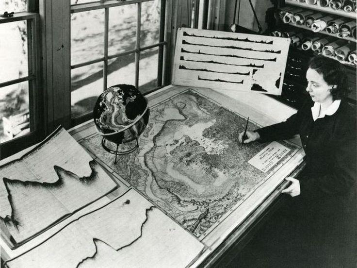 Marie Tharps Entdeckung und die Geburtsstunde der Plattentektonik – Spektrum der Wissenschaft