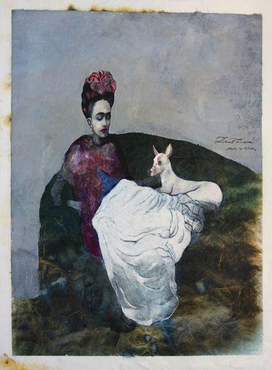 Katarina Vavrova Frida so psíkom