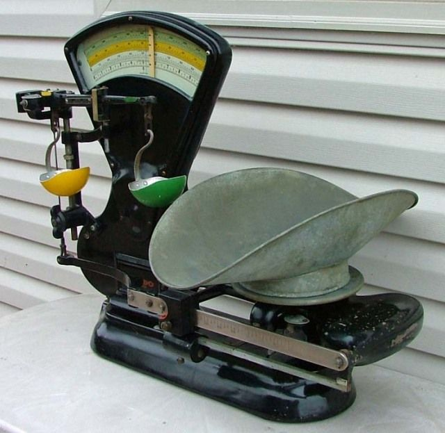 Collectibles-General (Antiques): Old Toledo Counting Scale, mid ...