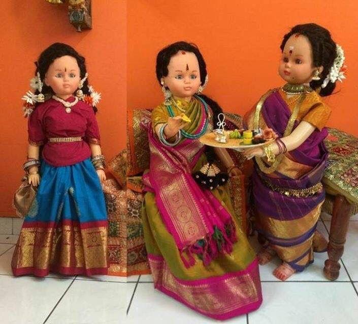 Gollu handmade dolls