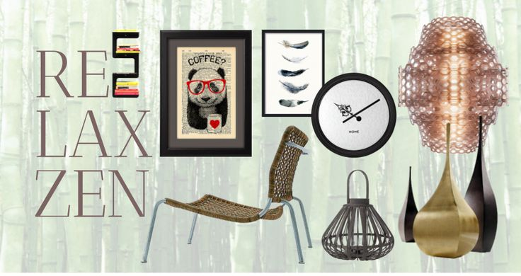 Take a look at the moodboard I created on Designbest:  Relax Zen | #Moodboard #designbest #magazine |