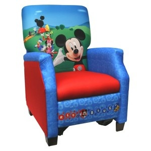 Target Mobile Site - Disney Mickey Mouse Club House Recliner