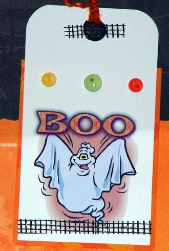 BOO TAG by miss libby: Boo Tags, Halloween Pl, Halloween Treats