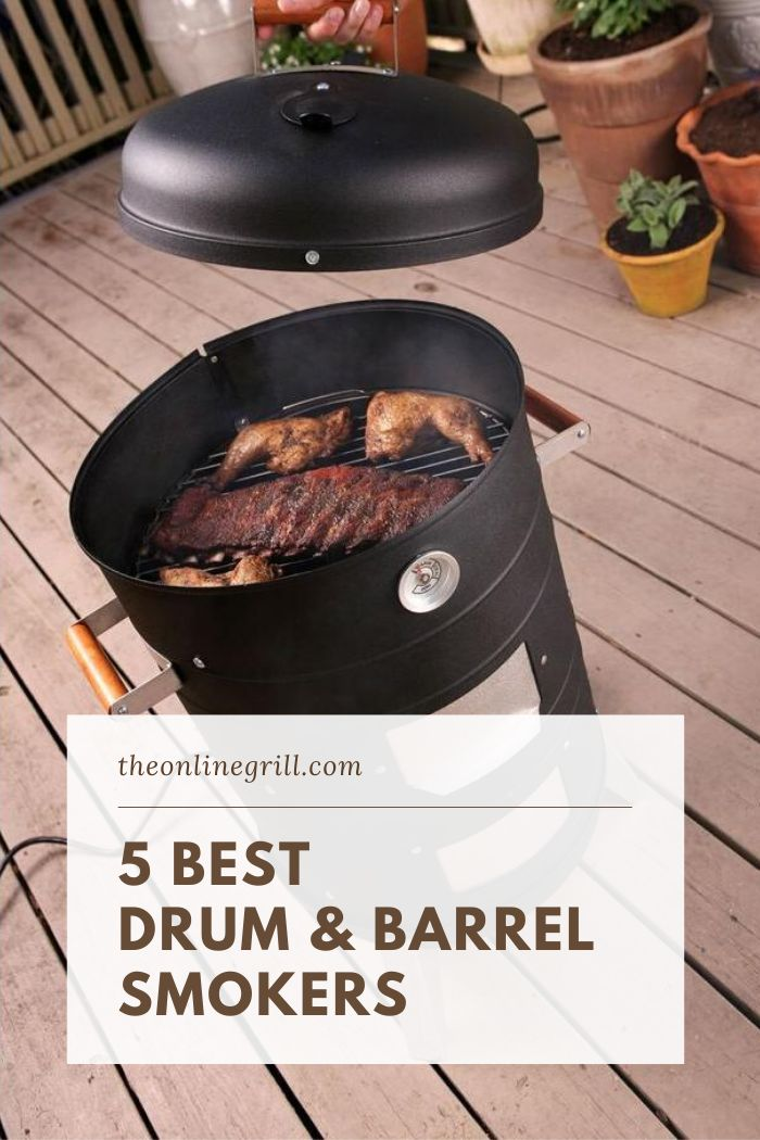 5 Best Drum Smokers Of 2020 Ranked Rated The Online Grill In 2020 Drum Smoker Barrel Smoker Best Drums