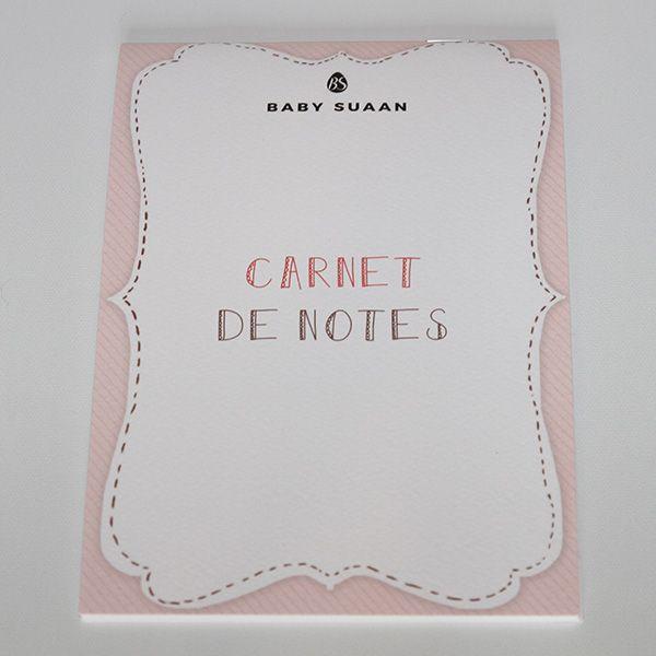 Carnet de notes Baby-suaan (coffret naissance)