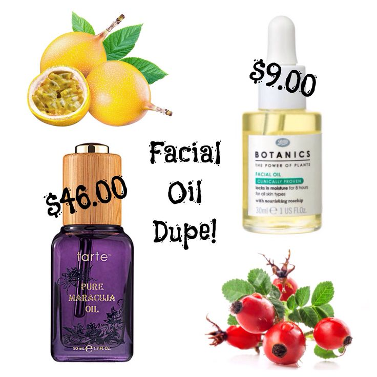 Tarte Maracuja Oil vs. Boots Botanics Organic Facial Oil. Both derived from natural fruit and plant extracts. This facial oil is proven to minimize signs of aging, brighten skin, while moisturizing your complexion no matter what skin type (oily skin approved) without the greasy feel. Stay beautiful!