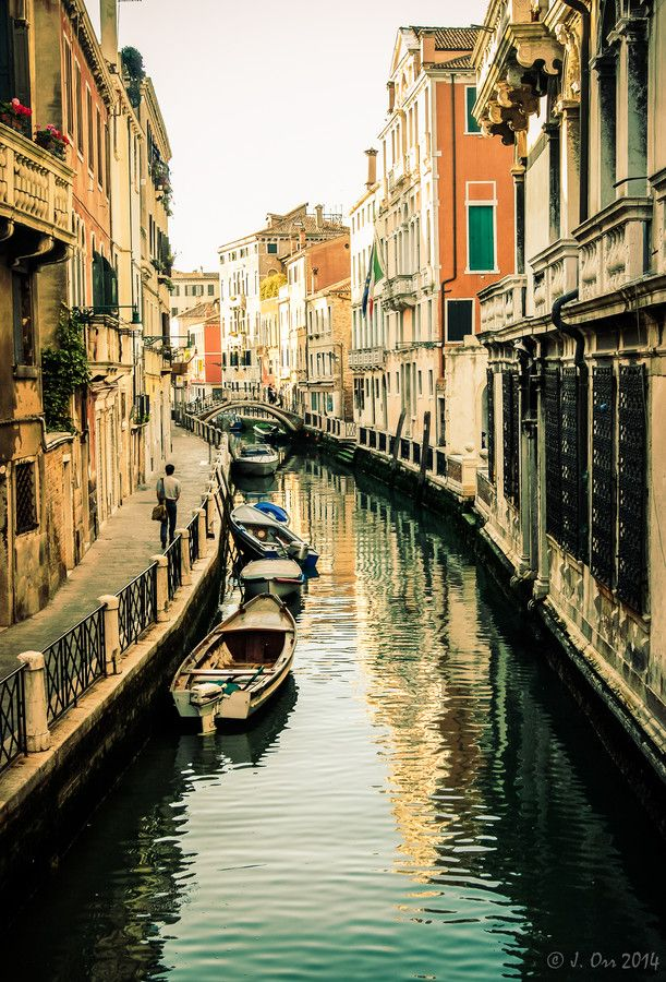 """The Streets of Venice"" by Justin Orr on 500px"