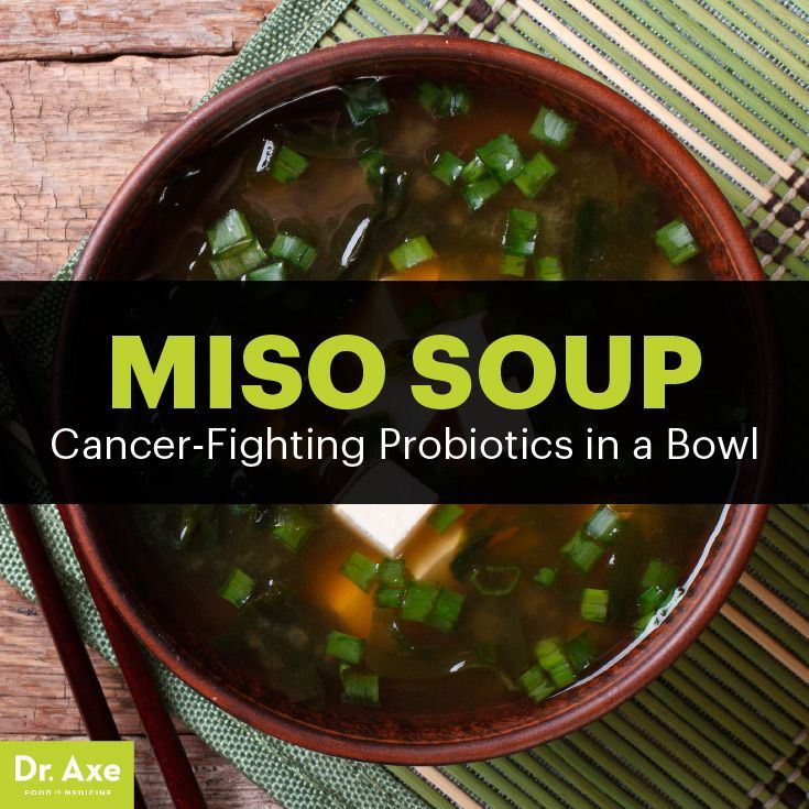 Miso soup - Dr. Axe http://www.draxe.com #health #holistic #natural