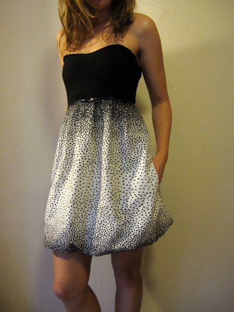 Sweetheart Bubble Dress || Free Pattern
