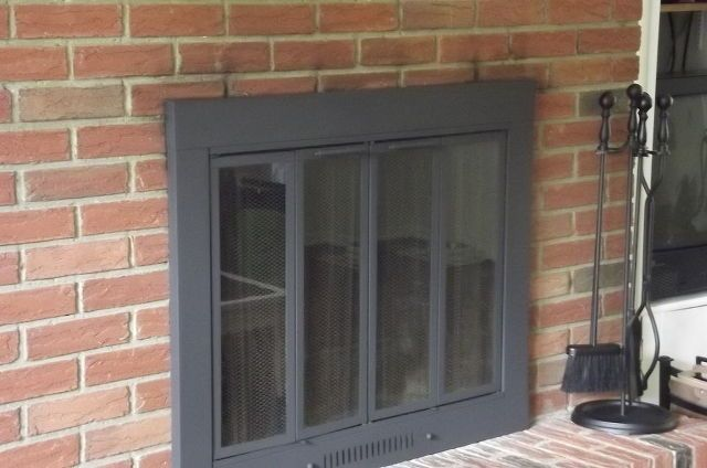1000 ideas about brass fireplace makeover on