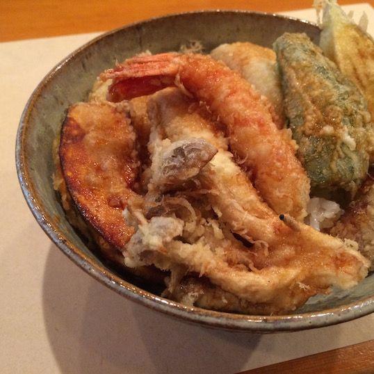 祖師ケ谷大蔵「栗天」の天丼