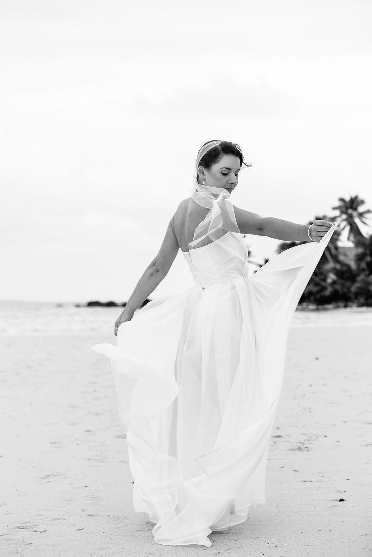 By: Turama Photography | www.turamaphotography.com | Cook Island Wedding Photography | Dresses | Rarotonga