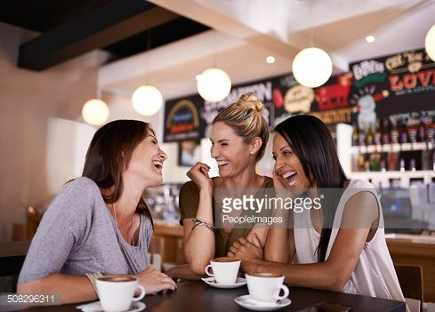 Stock Photo : Catching up on the news