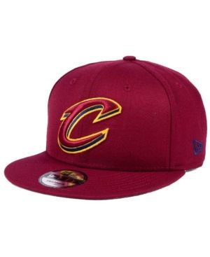New Era Cleveland Cavaliers Solid Alternate 9FIFTY Snapback Cap - Red Adjustable