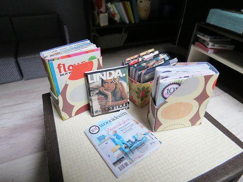 Mijn favoriete tijdschriften My favorite magazines. Flow 101 Woonideeën en Linda