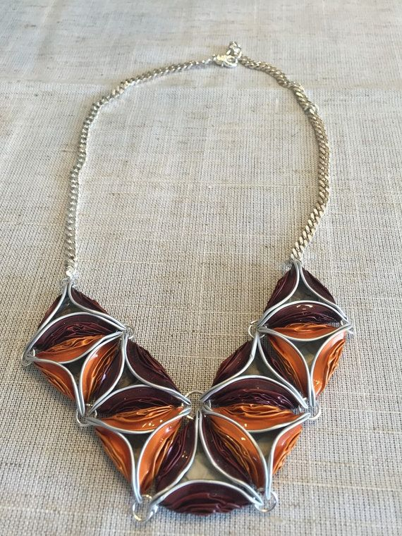 Beautiful hand madef nespresso lower like  necklace 3