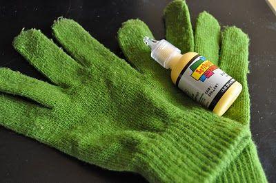 one-step quilting gloves tutorial | Little Birdie Secrets