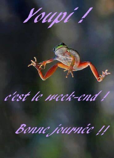 week end grenouille
