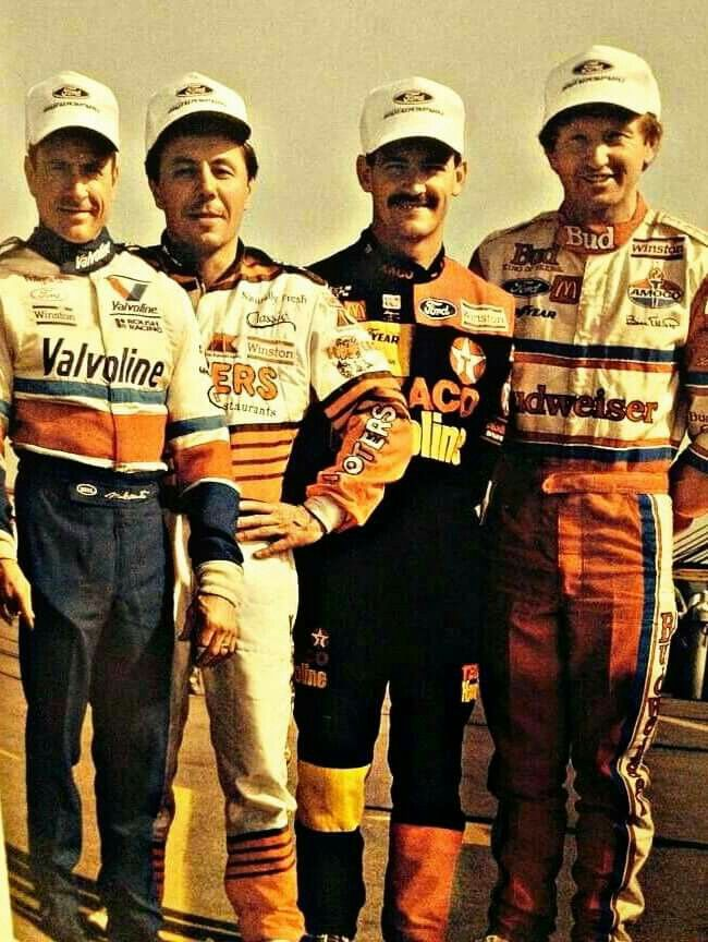 Mark Martin, Alan Kulwicki, Davey Allison, and awesome Bill Elliot