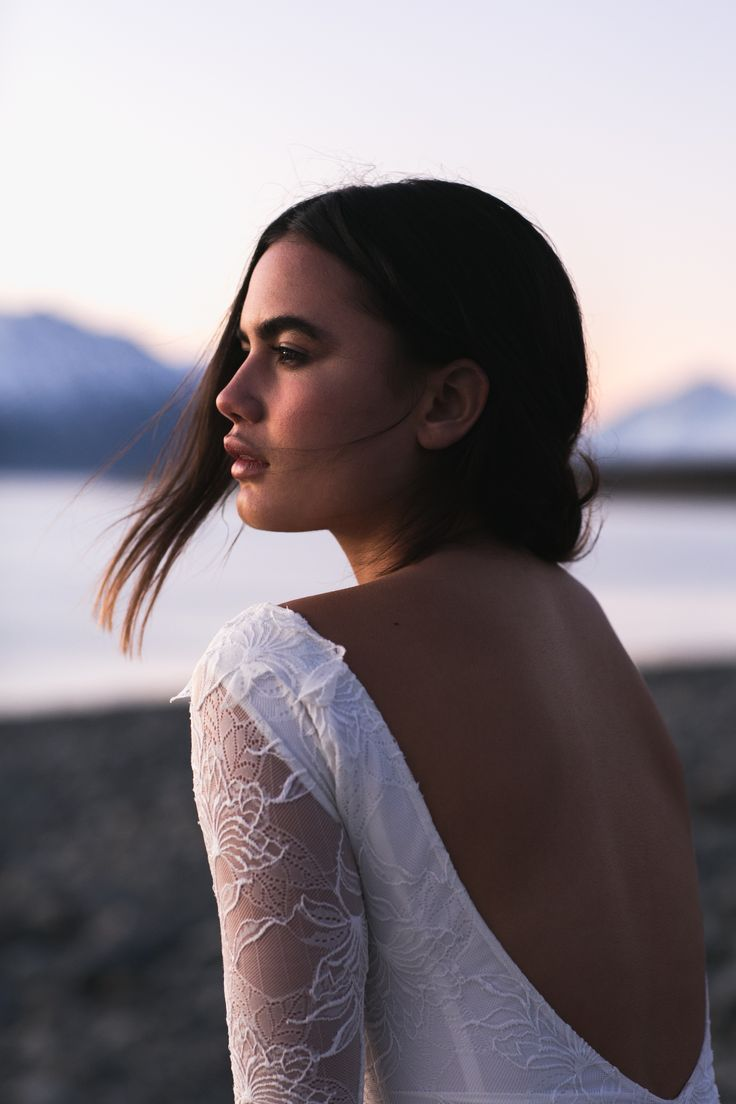 Francis from the Back | Grace Loves Lace | The Oracle Editorial #bohoweddingdress #bohemianweddingdress #laceweddingdress