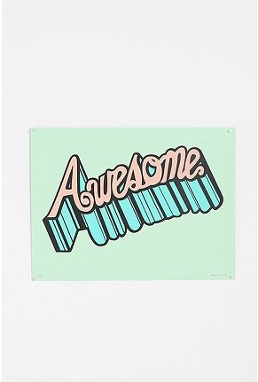 brainstorm print & design awesome print - urban outfitters