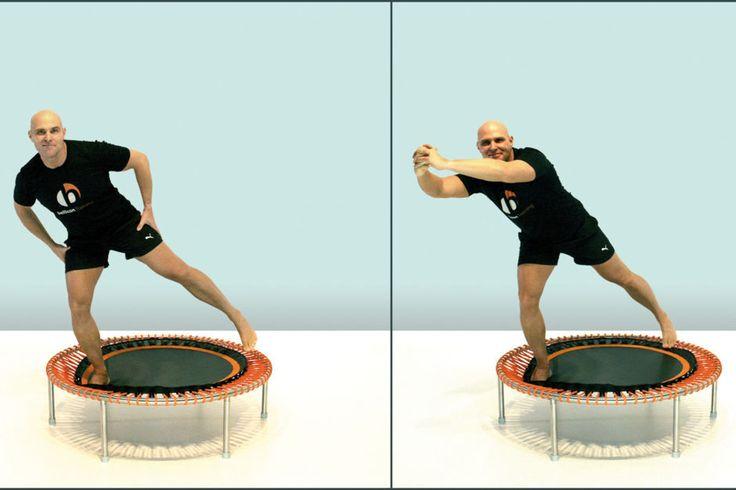 Abnehmen Mit Trampolin : 13 effektive trampolin bungen trampolin bungen trampolin training und fitness trampolin ~ Watch28wear.com Haus und Dekorationen