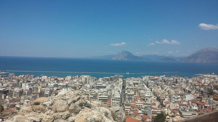 View from Patras Castle