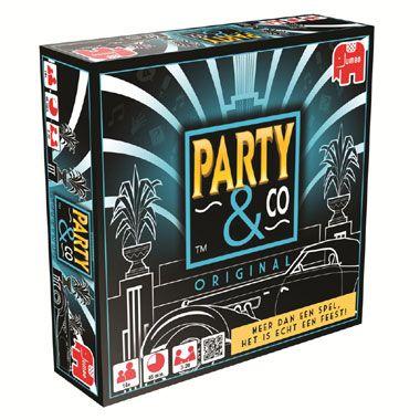 Jumbo Party & co original  Dit is Party en Co. met 2000 spiksplinternieuwe vragen en opdrachten! Het beste uit de allerleukste spellen komt weer samen in dit dynamische bordspel.  EUR 21.99  Meer informatie