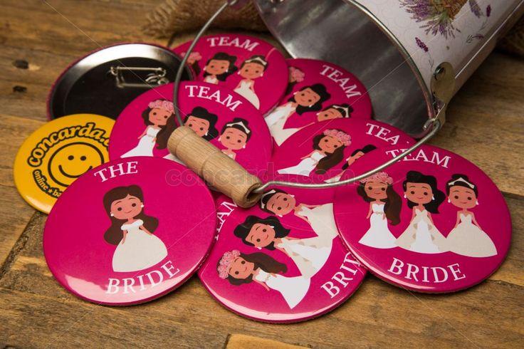Κονκάρδες νυφούλες bachelorette party μόνο στο concarda.com