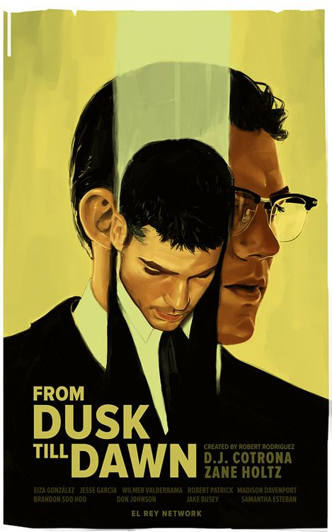 GECKO BROS. Poster // From Dusk Till Dawn (El Rey Network)