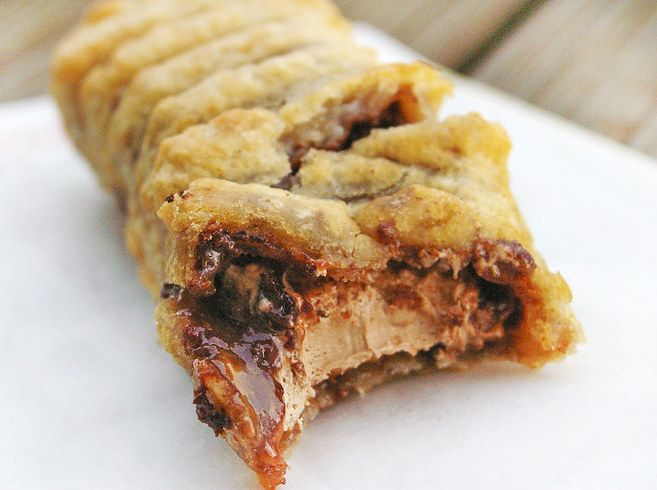 In Scotland we have deep fried Mars bars (3 Musketeers) #TTDD